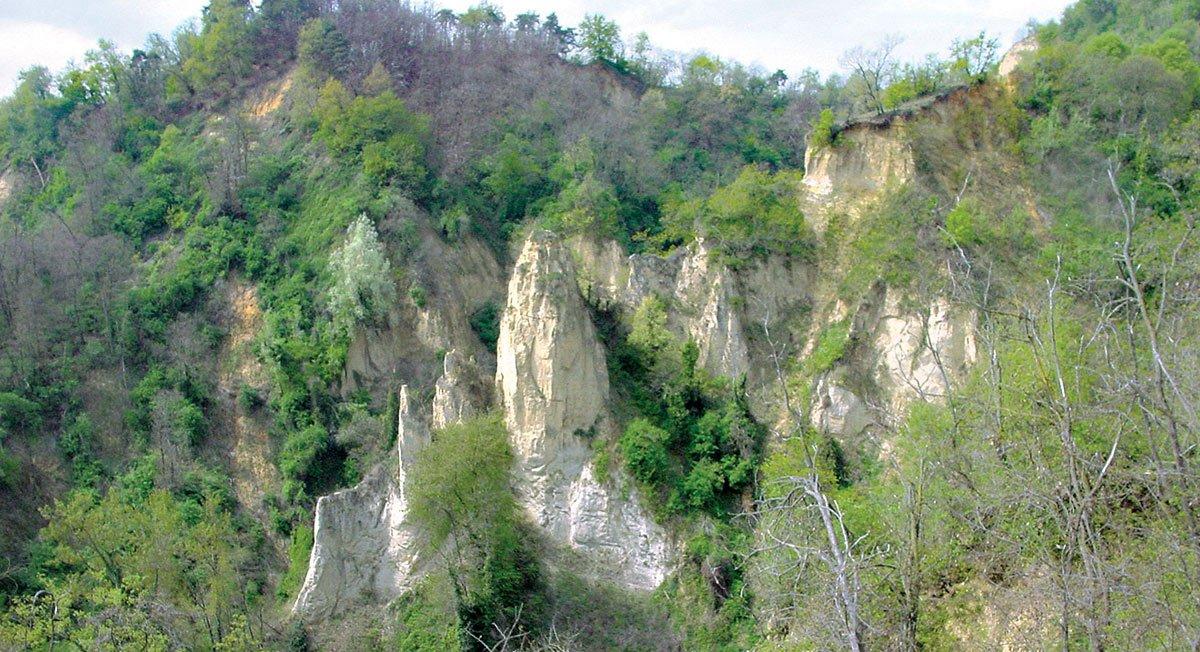 Il grande canyon delle Rocche