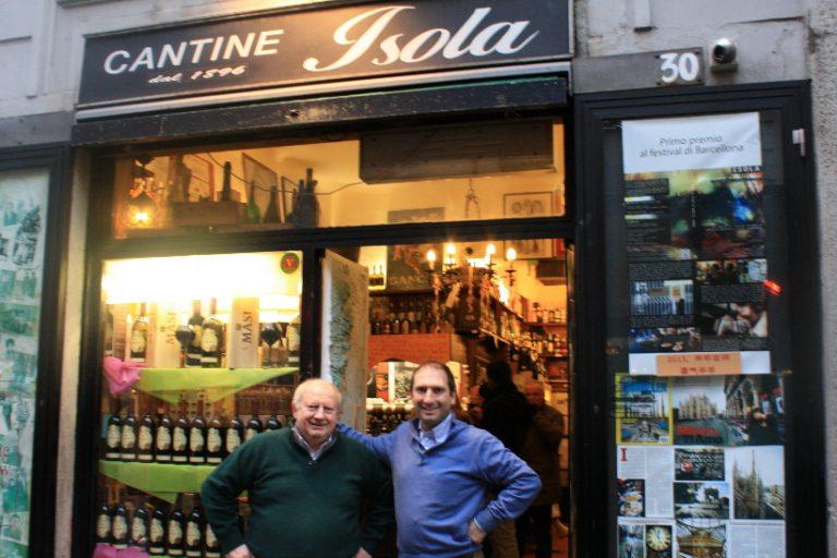 LOMBARDIA – Milano: Cantine Isola