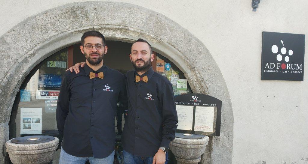 VALLE D'AOSTA – Aosta: Ad Forum enoteca bar ristorante