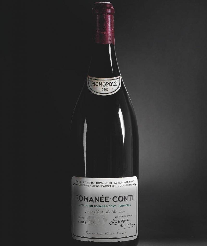 Vale 100 mila euro il vino più costoso venduto in Italia
