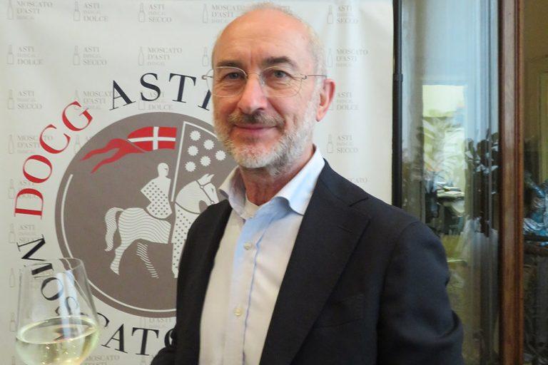 Lorenzo Barbero, enologo, rappresentante di parte industriale (Campari) alla guida del Consorzio di Tutela dell'Asti e del Moscato d'Asti